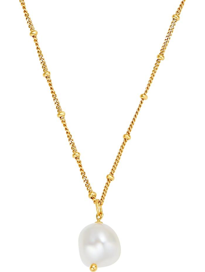 Noelani Noelani Damen-Kette 925er Silber, gold