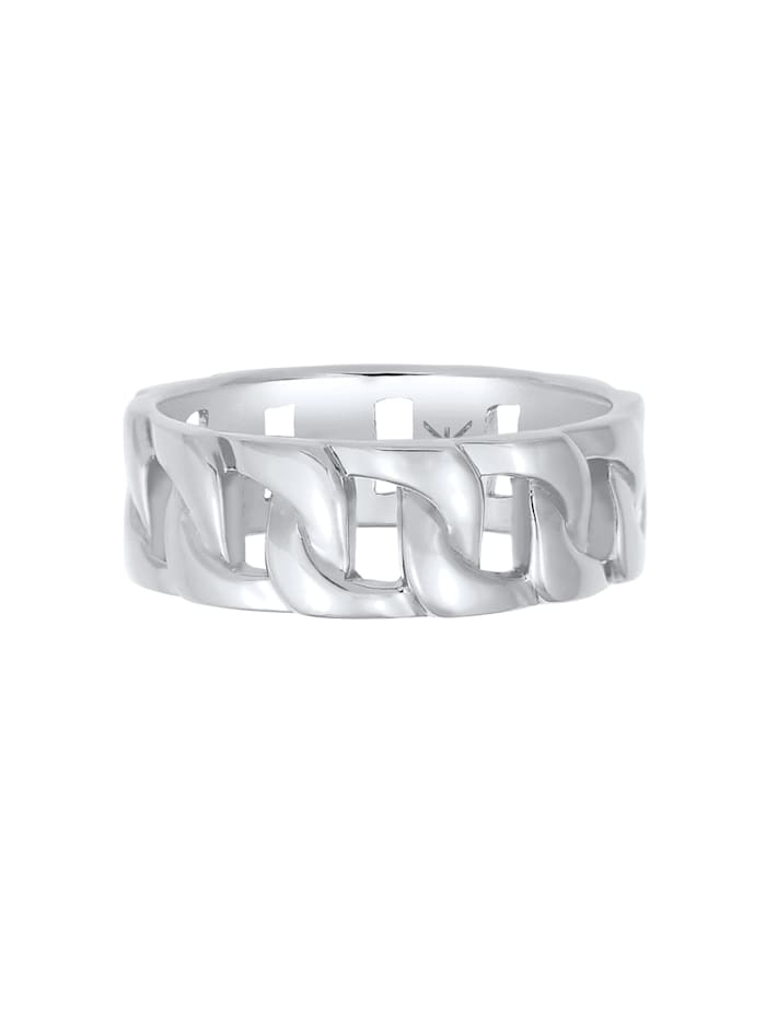 Ring Herren Chunky Chain Look Cool Trend 925 Silber