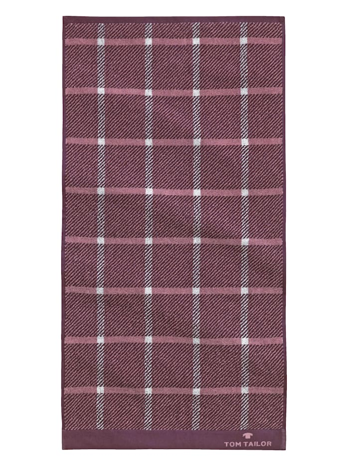 Tom Tailor Frottierserie  Jacquard Towel, Mauve