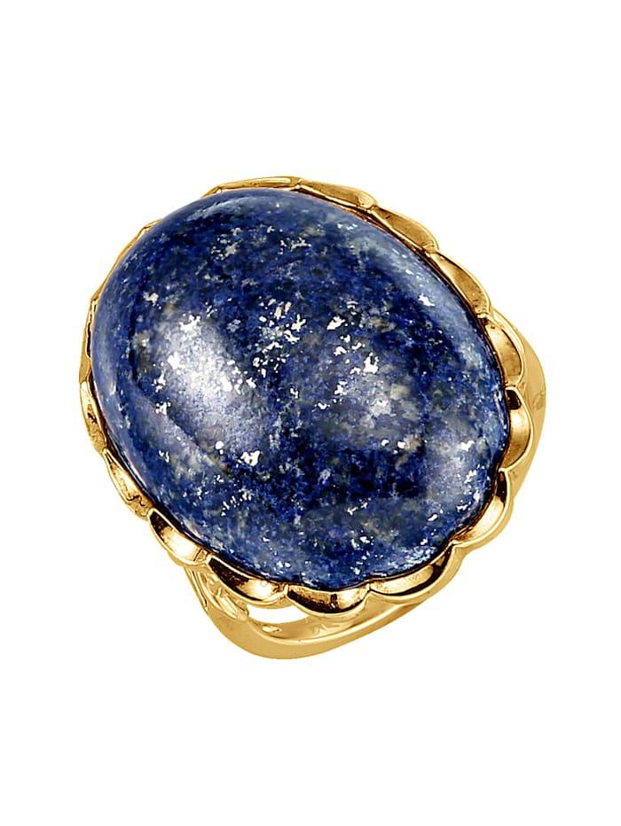 Bague avec lapis-lazuli, Bleu