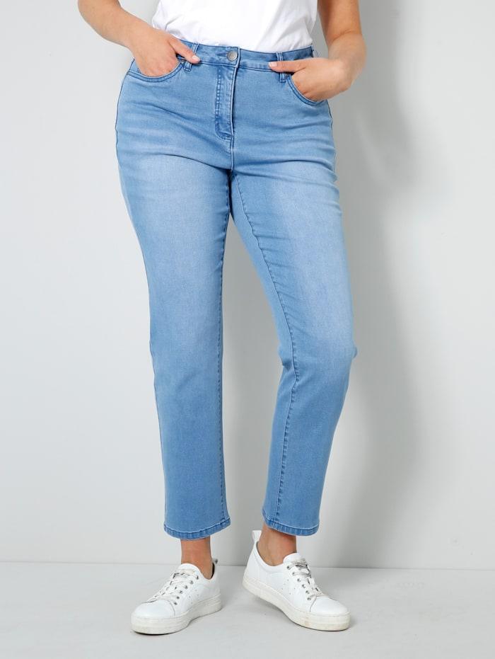 Janet & Joyce Jeans mit Shape-Effekt, Blue stone