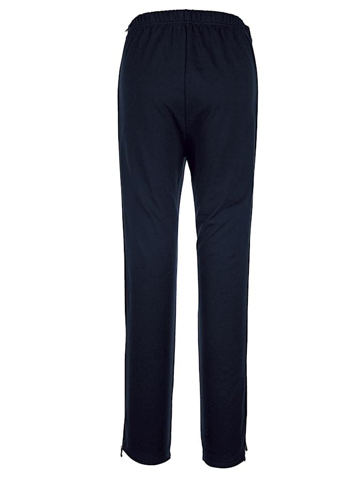 Pantalon de loisirs avec longue glissière sur les côtés