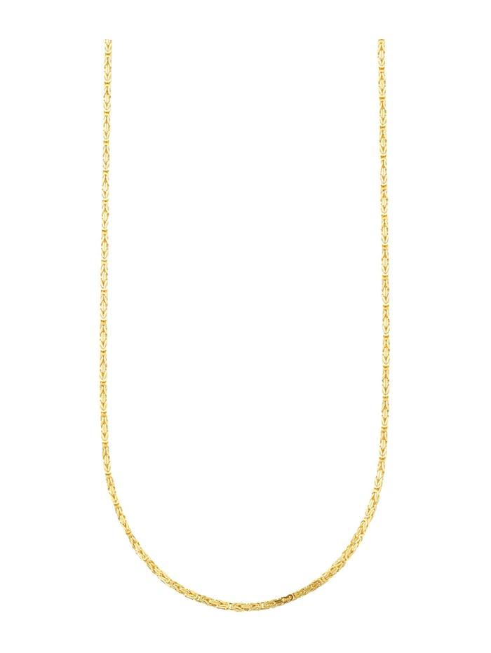 Giulia Königskette in Gelbgold 585, Gelbgoldfarben