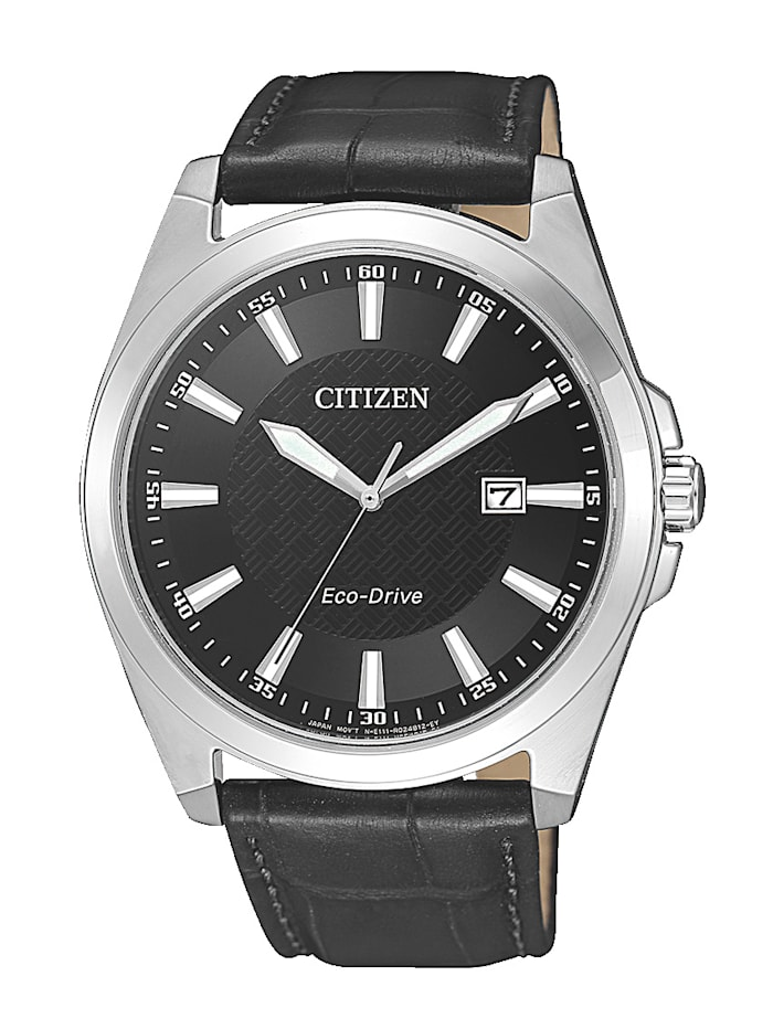 Citizen Herrenuhr, Eco-Drive BM7108-14E, Schwarz