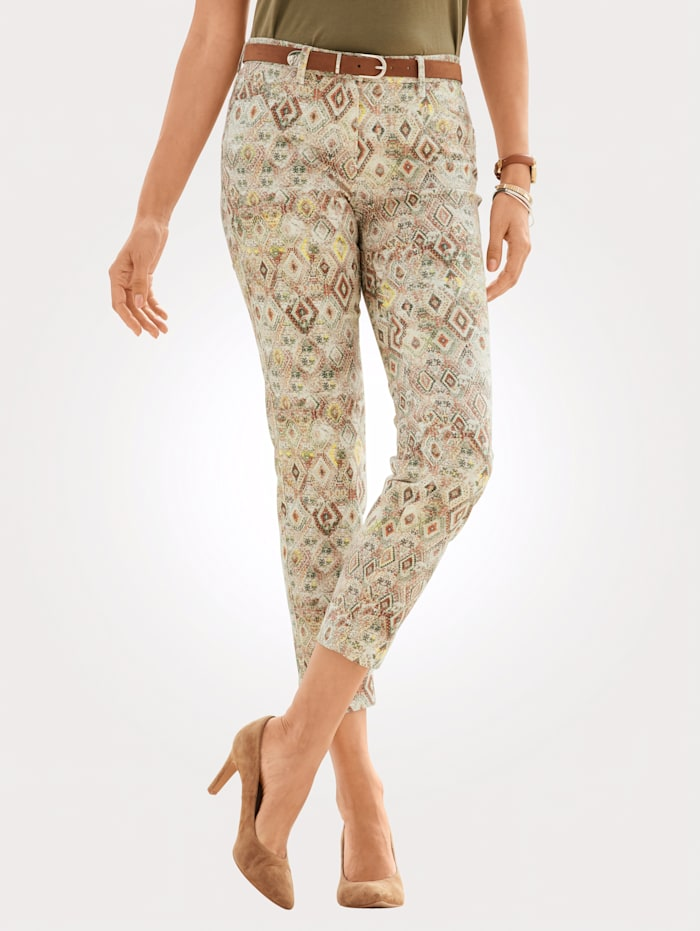 Toni Cropped jeans, Multi