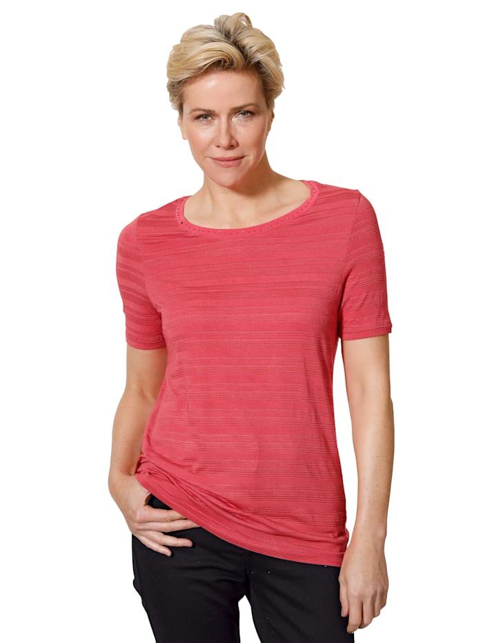 Shirt mit tonigem Strukturringel