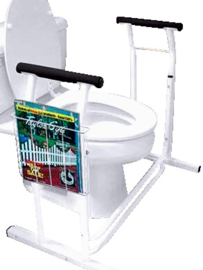 Toiletframe van stevig staal