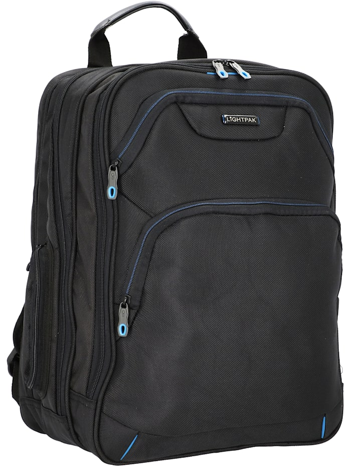 Lightpak Executive Line Echo 1 Businessrucksack 42 cm Laptopfach, schwarz