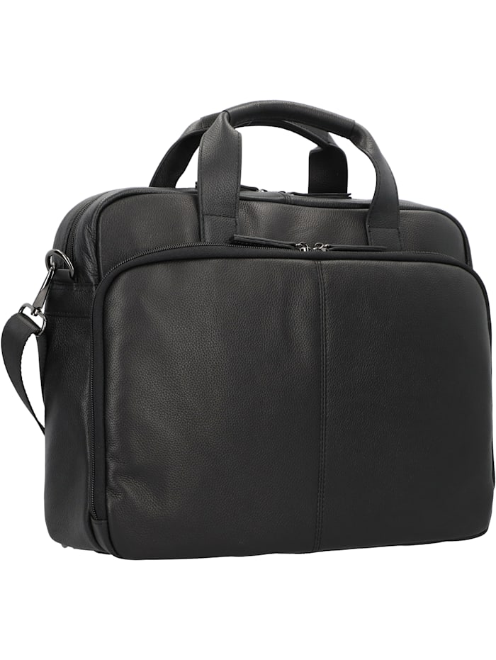 Business Line Aktentasche Leder 38 cm Laptopfach