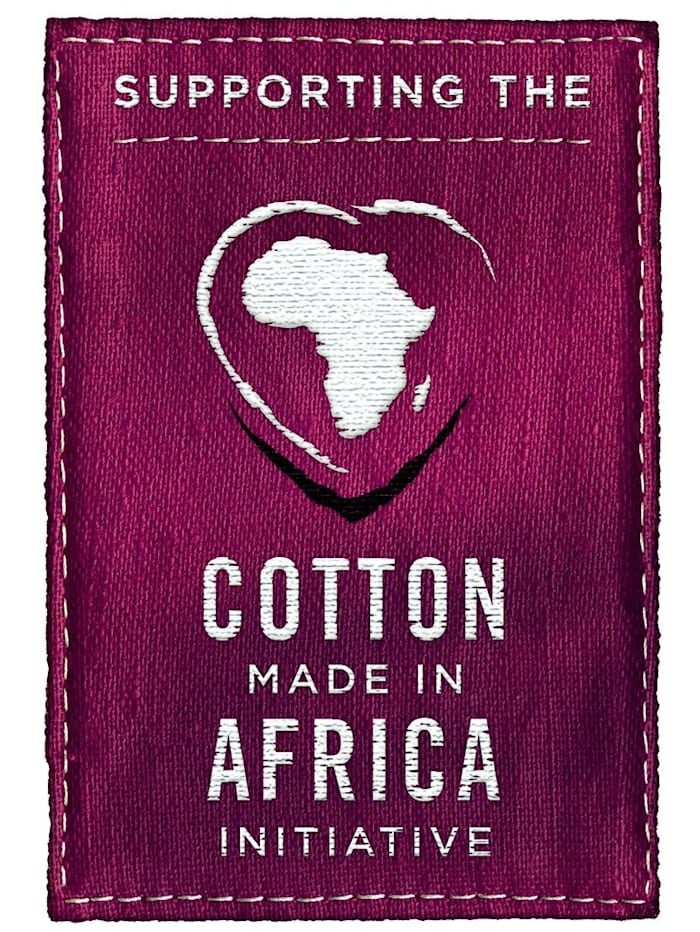 Nattlinne i bomull från Cotton made in Africa-programmet
