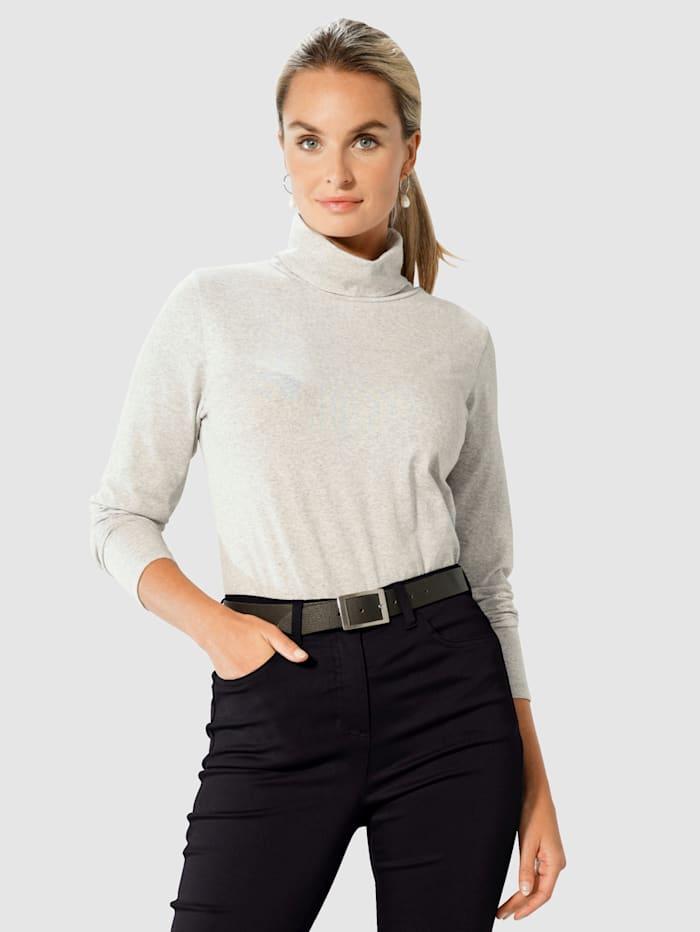 Paola Polotopp i sportig modell, Silvergrå