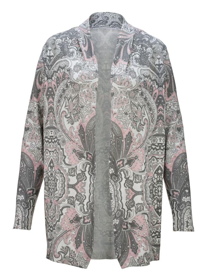 Vest met paisleyprint