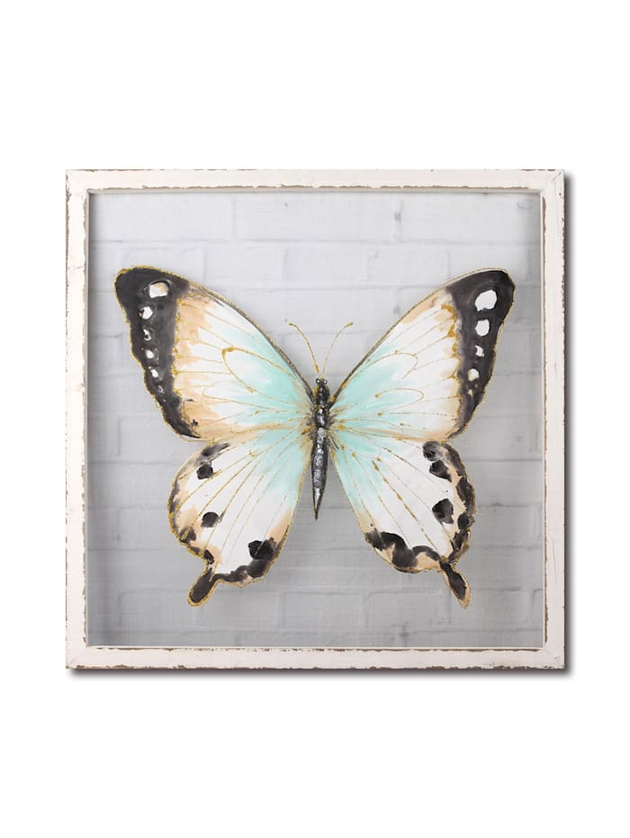 NTK-Collection Wandbild Schmetterling, Bunt