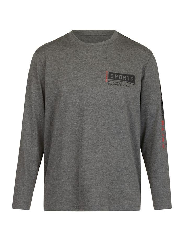 BABISTA Shirt van sneldrogend materiaal, Antraciet