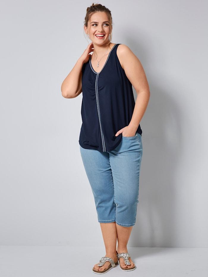 Capri-jeans in 5-pocketmodel