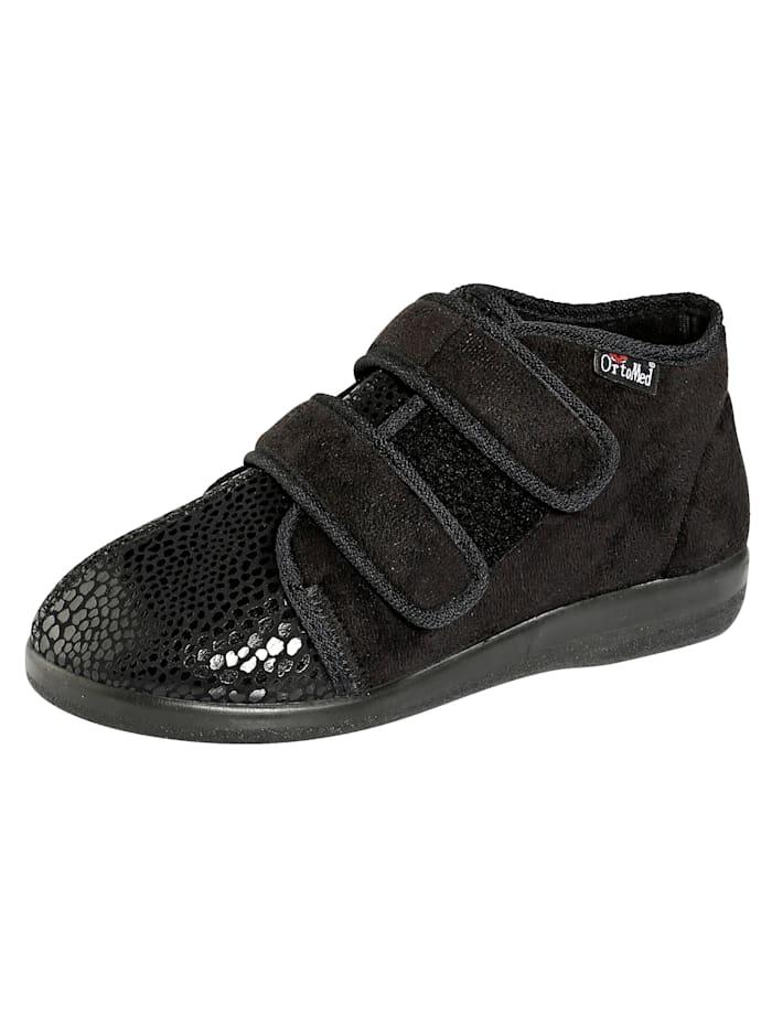 Belafit Chaussures d'intérieur avec première amovible, Noir