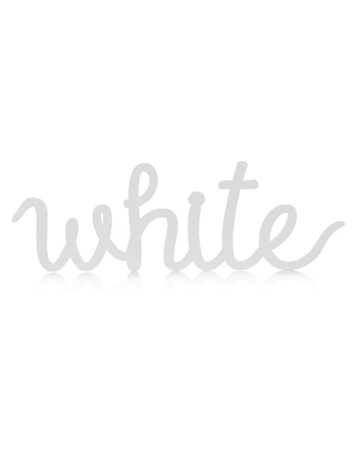 Schriftzug White