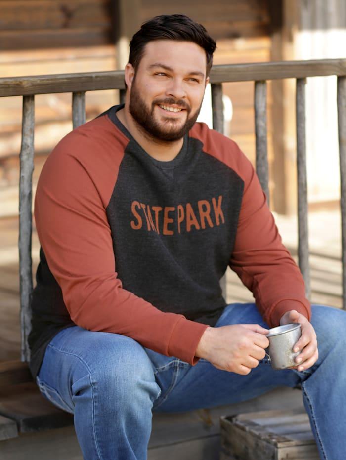 Sweatshirt mit Raglan Ärmel