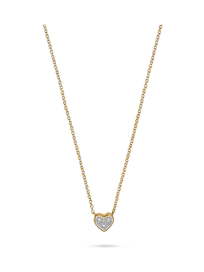 CHRIST Diamonds CHRIST Diamonds Damen-Kette 375er Gelbgold 3 Diamant, gold