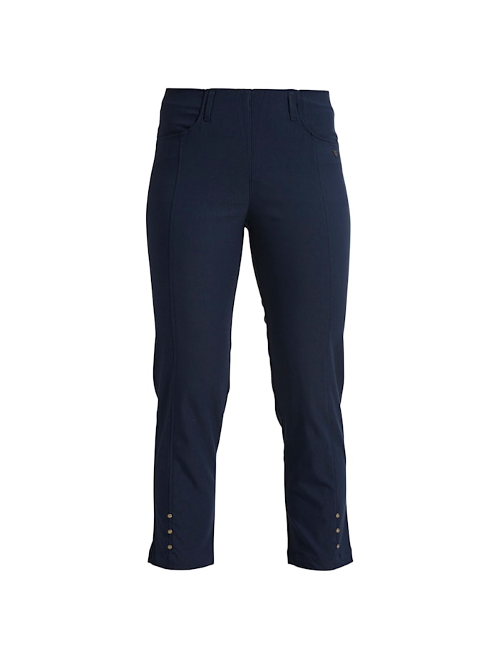 LauRie Hose Rose im Regularfit-Schnitt, Navy