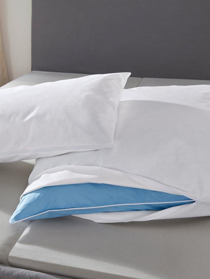 Badenia Vollschutz medicase® Bett und Kissenbezüge, Weiß