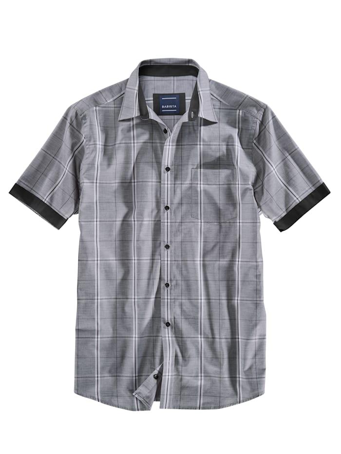 Overhemd met grafisch ruitpatroon