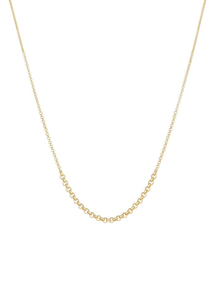 Halskette Erbskette Verlauf Basic Mix 925 Sterling Silber
