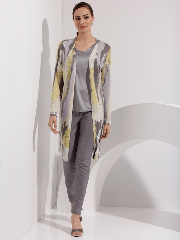 AMY VERMONT Lederhose in modischer Farbe, Flieder