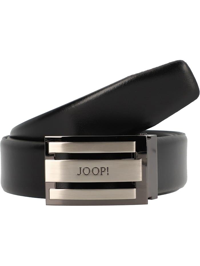 JOOP! Coll.Belt Gürtel Leder, schwarz