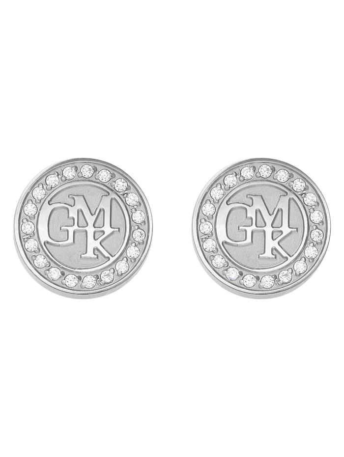 Guido Maria Kretschmer Collec. GMK Collection By CHRIST Damen-Ohrstecker Edelstahl 38 Zirkonia, silber
