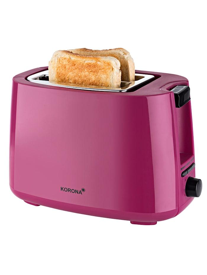 Korona Automatik-Toaster 21134, für 2 Brotscheiben, beere, beere