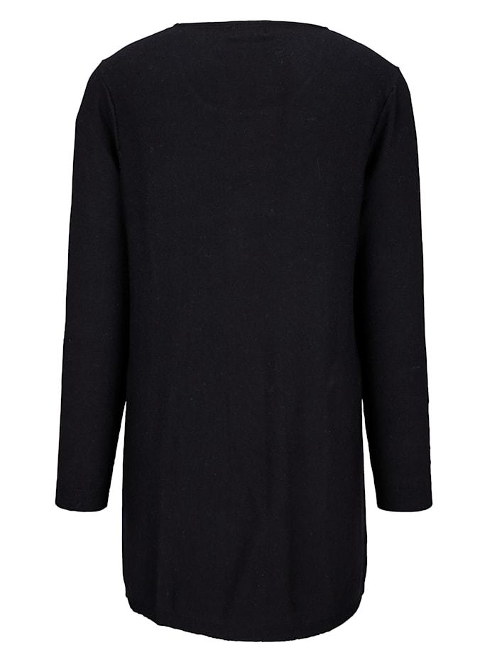 Pullover in leicht ausgestellter Form