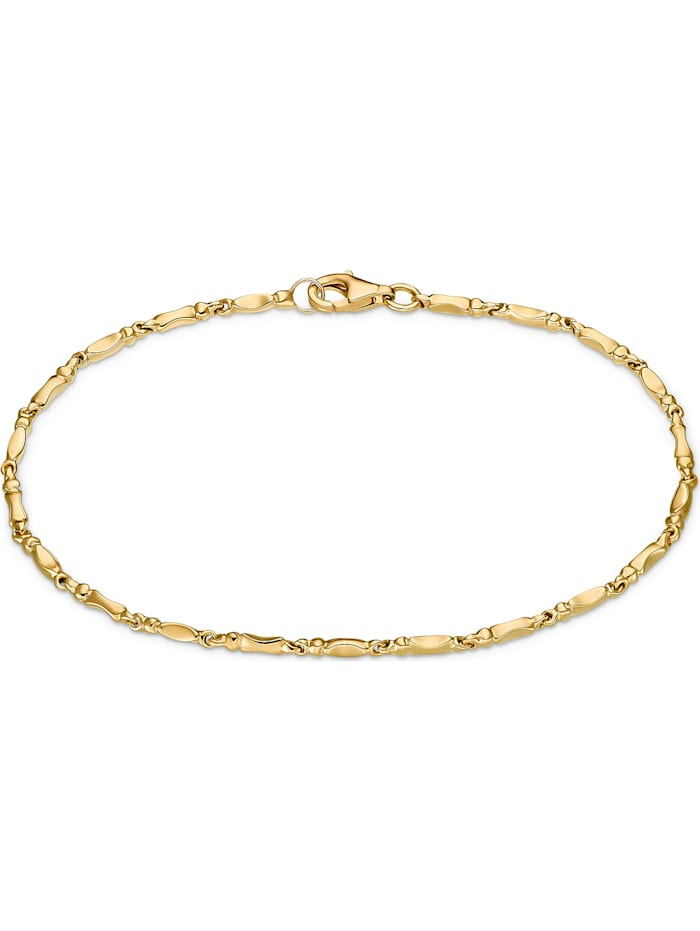 CHRIST GOLD CHRIST Gold Damen-Armband Armband poliert 375er Gelbgold, gelbgold