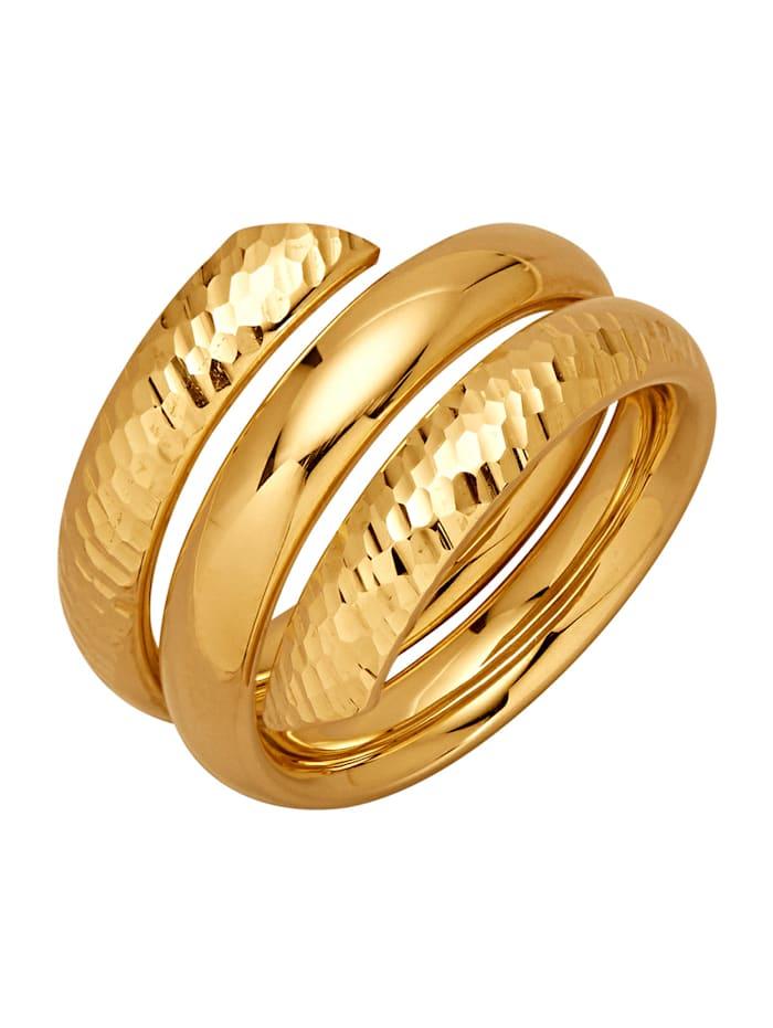 Amara Gold Damenring, Gelbgoldfarben