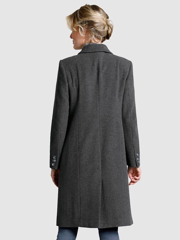 Manteau en laine mélangée de qualité supérieure