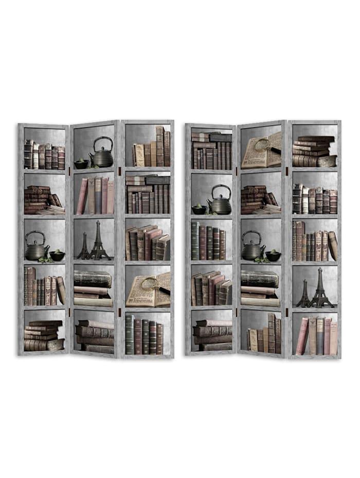 Paravent Bücherregal