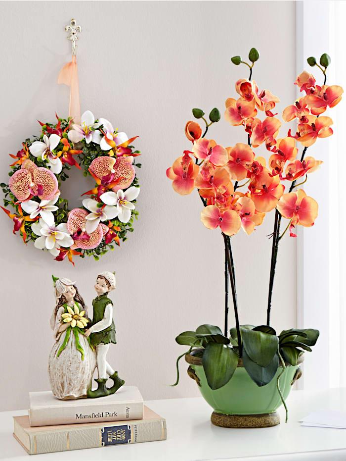 Konstgjord växt, orkidé