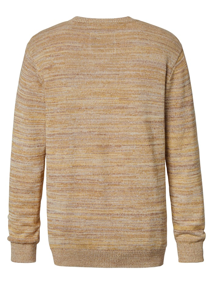 Pullover in mehrfarbiger Optik