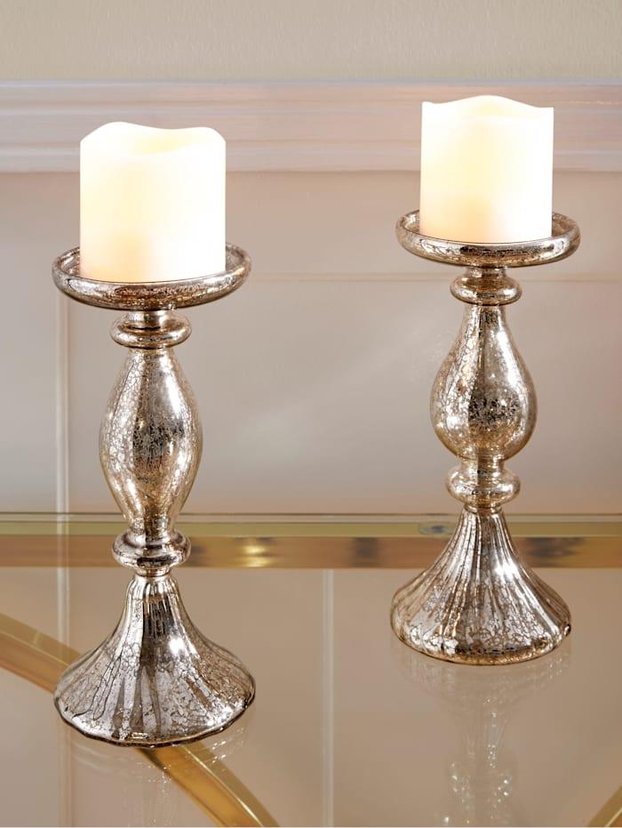 2er Set Kerzenständer