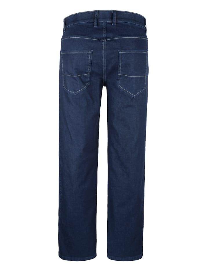 5-pocketjeans met comfortabele elastische band binnenin