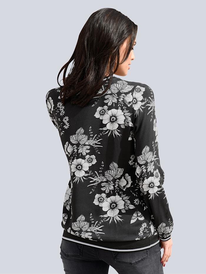 Bluse im angesagten Blumenprint