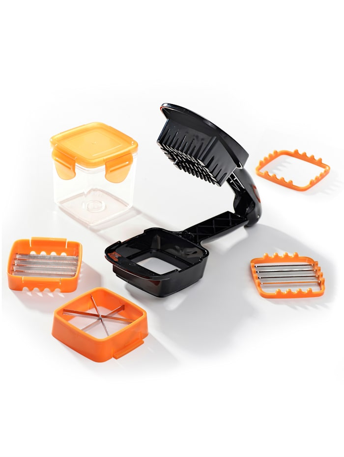 Genius Genius® 7tlg. Nicer Dicer Quick, orange/schwarz