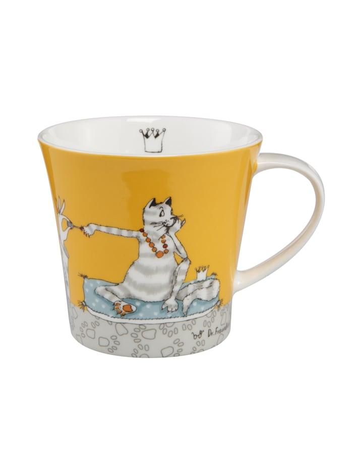 Goebel Goebel Coffee-/Tea Mug Barbara Freundlieb - Für meine Katze, Bunt