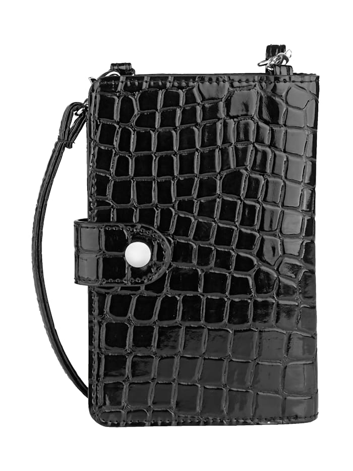 Phone bag with a built-in purse