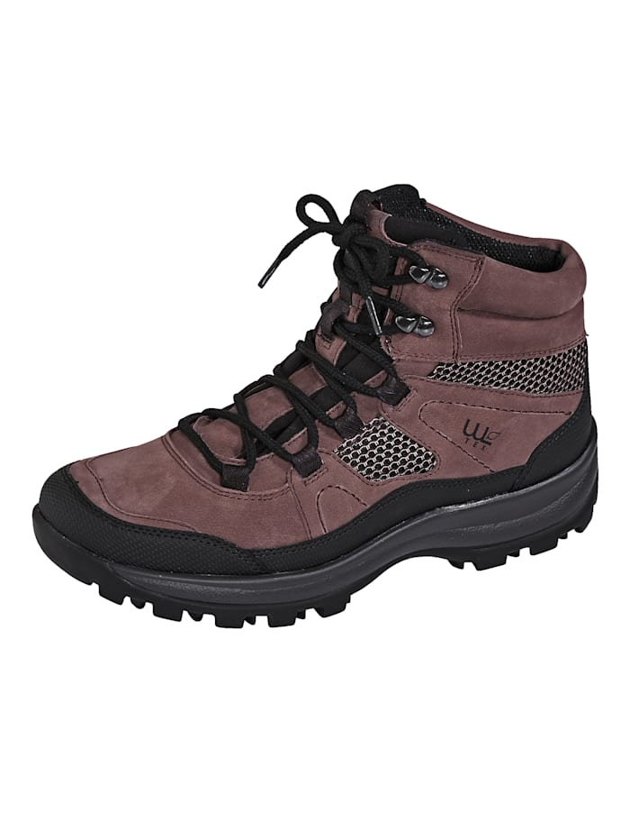 Waldläufer Trekkingstiefelette mit WALDLÄUFER-TEX-Ausstattung, Altrosa