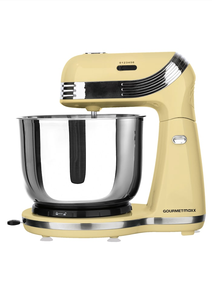 GOURMETmaxx GOURMETmaxx keukenmachine 50's Retro Style, vanille