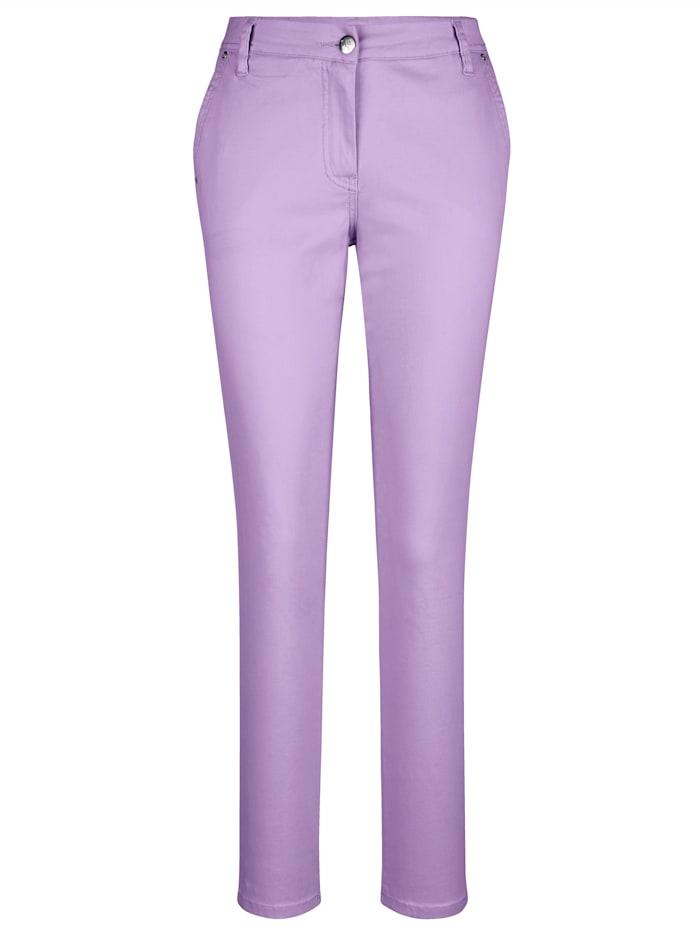 AMY VERMONT Chinohose in angesagten Farben, Lavendel