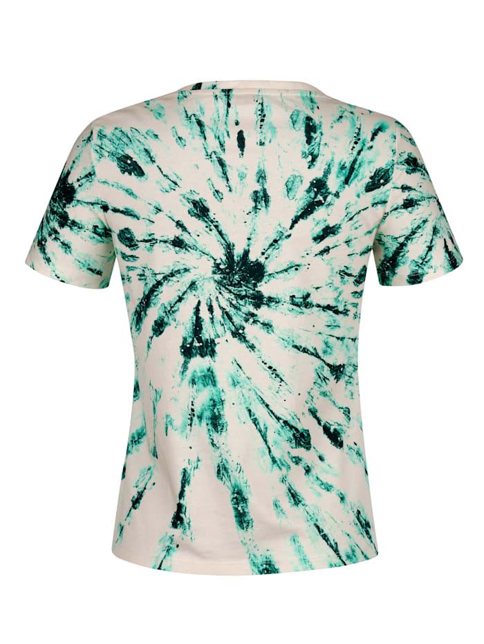 Strandshirt mit Batikdessin