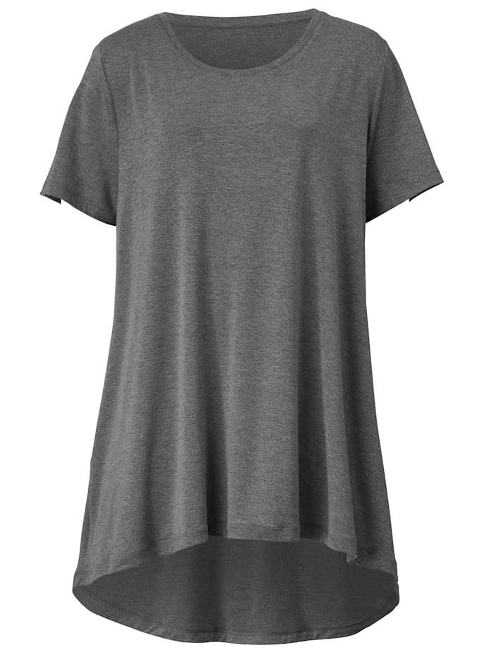 Longshirt in Vokuhila-Form