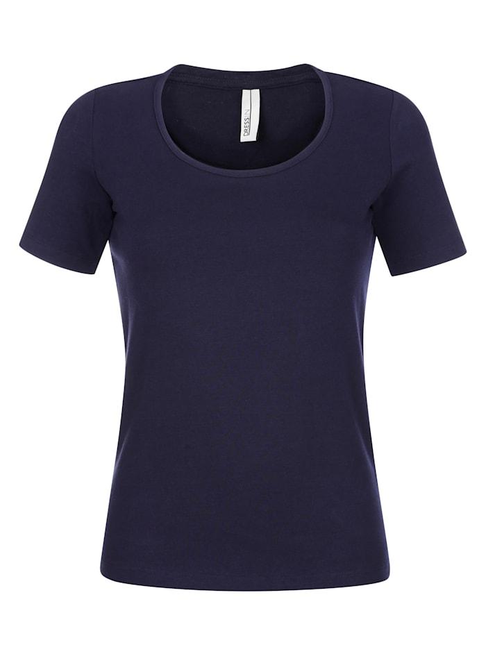 Shirt met hoog katoengehalte